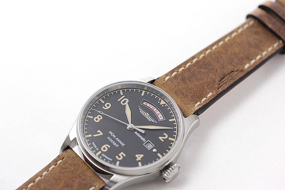 シンプルで使いやすい機械式時計