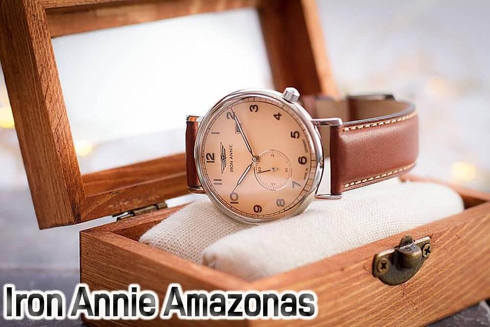 アイアンアニー腕時計 アマゾナス