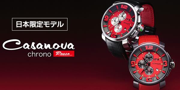 ita127011 腕時計 カサノバ クロノ 日本限定モデル