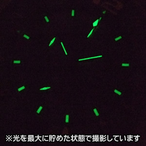 ita127001 腕時計蓄光