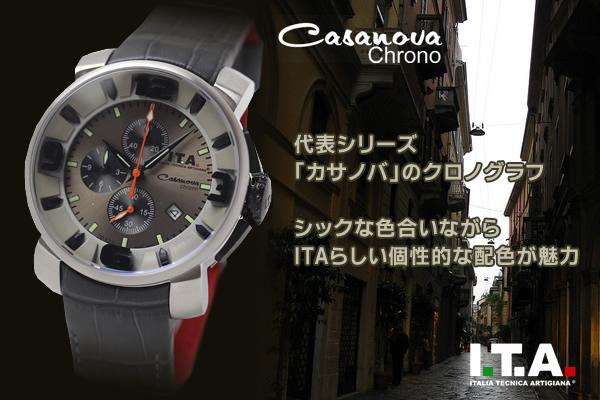 ita127003 腕時計 カサノバ クロノ