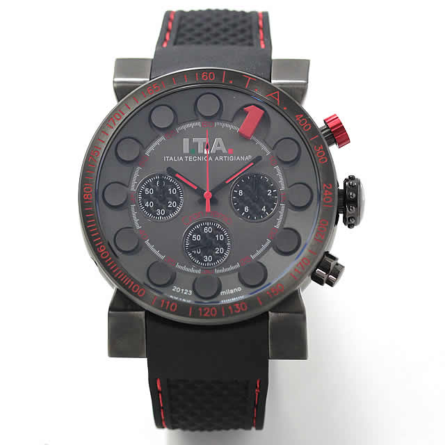 I.T.A.(アイティーエー)メンズ腕時計 クォーツクロノグラフ 18.01.02