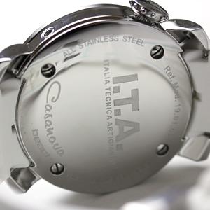 ita190102 腕時計 ケース裏 ITA