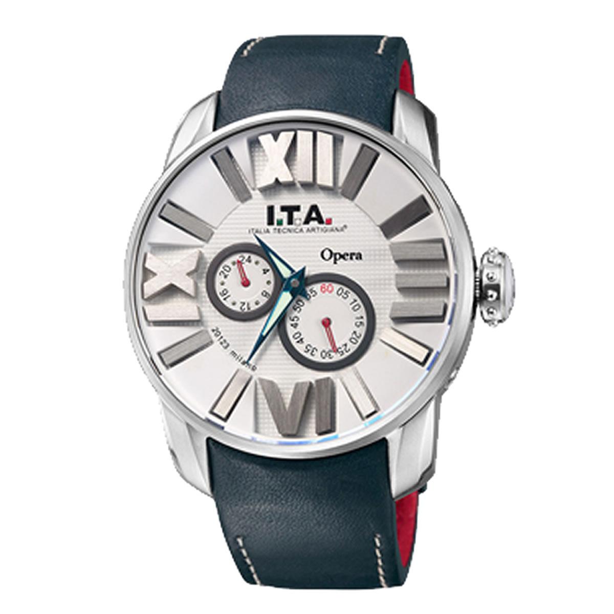 I.T.A. オペラ ホワイト/ネイビー ref.21.00.07