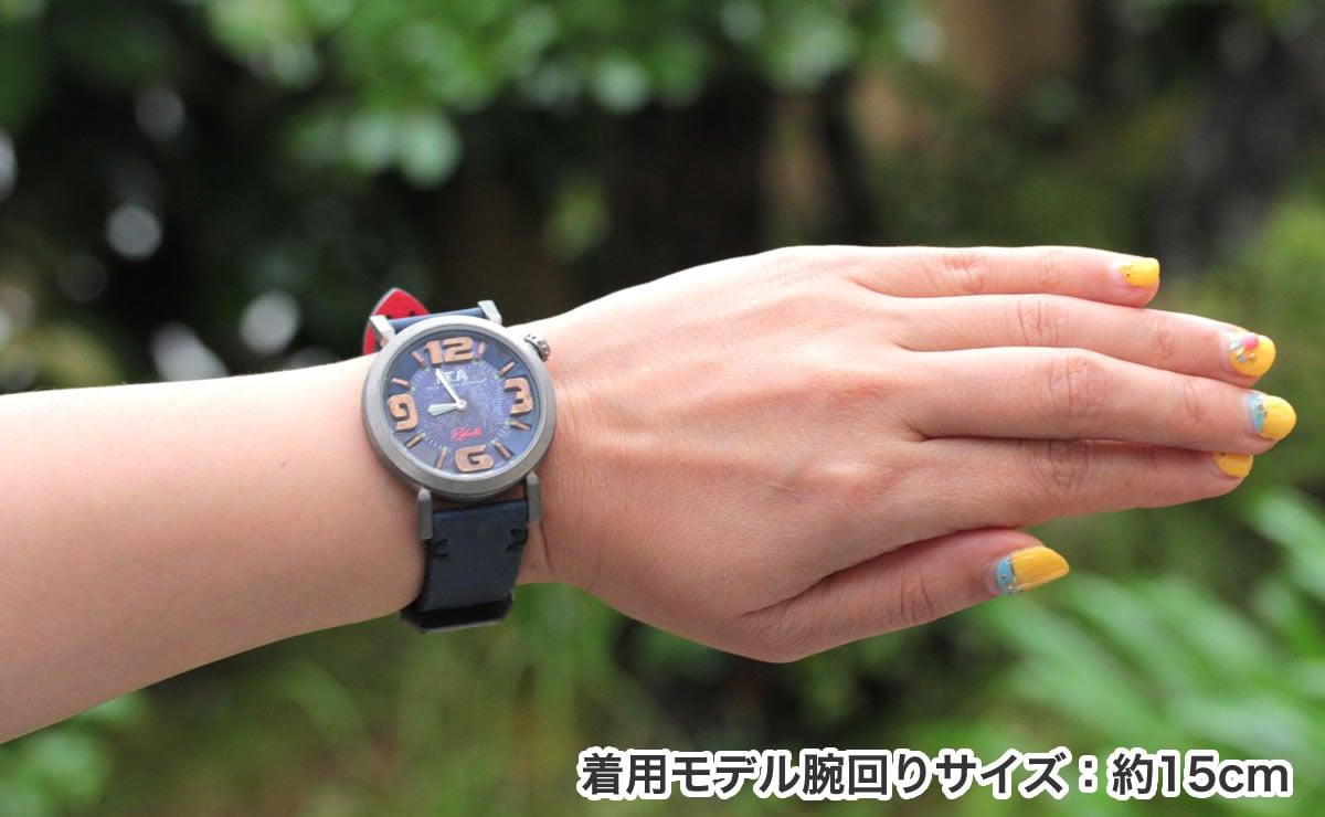 ITA リベッレ ita220002 着用モデル腕回り約15cm