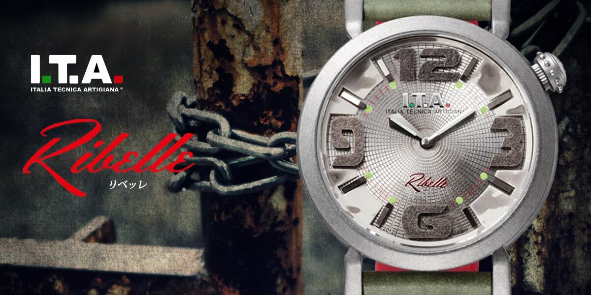 ITA イタリアンウォッチ リベッレ ita220003 メンズ腕時計