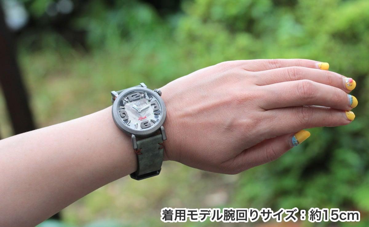 ITA リベッレ ita220003 着用モデル腕回り約15cm