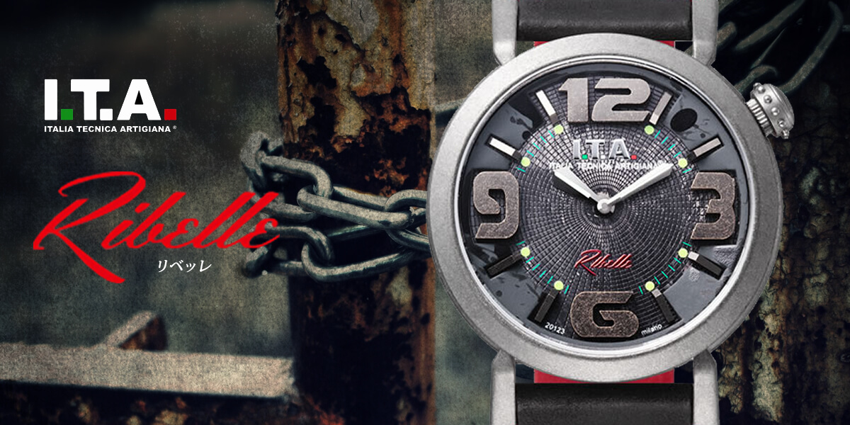 ITA イタリアンウォッチ リベッレ ita220004 メンズ腕時計