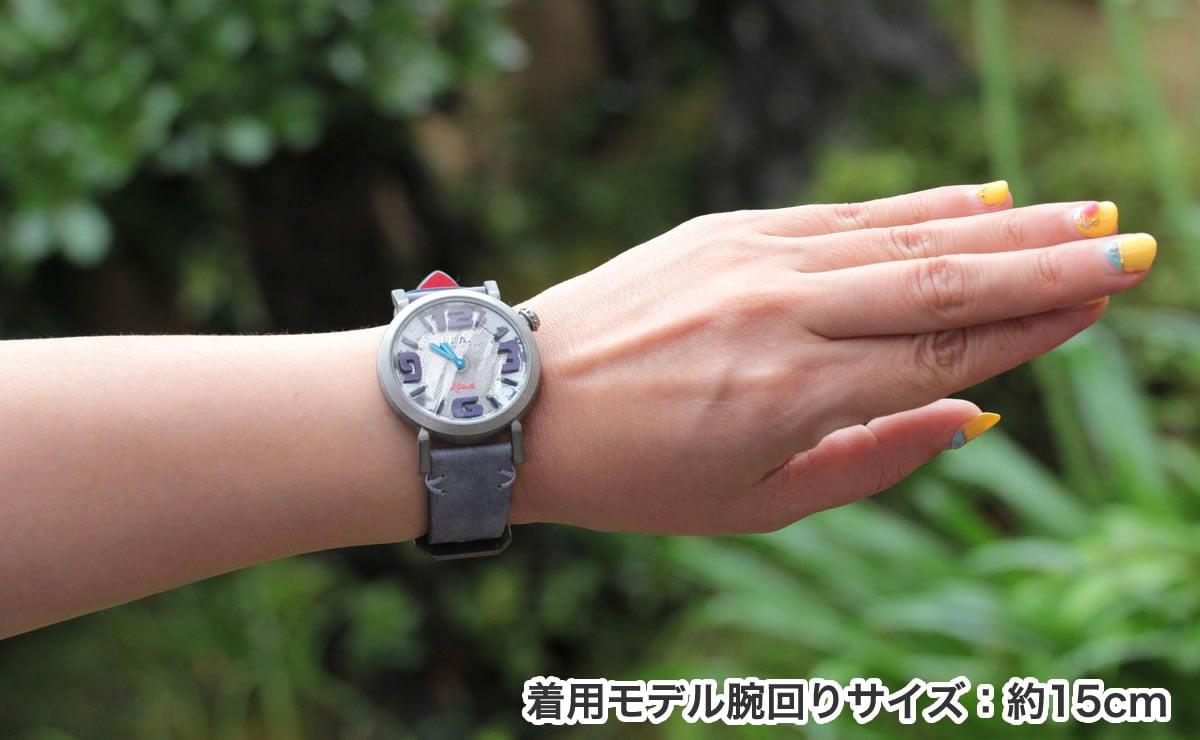 ITA リベッレ ita220005 着用モデル腕回り約15cm