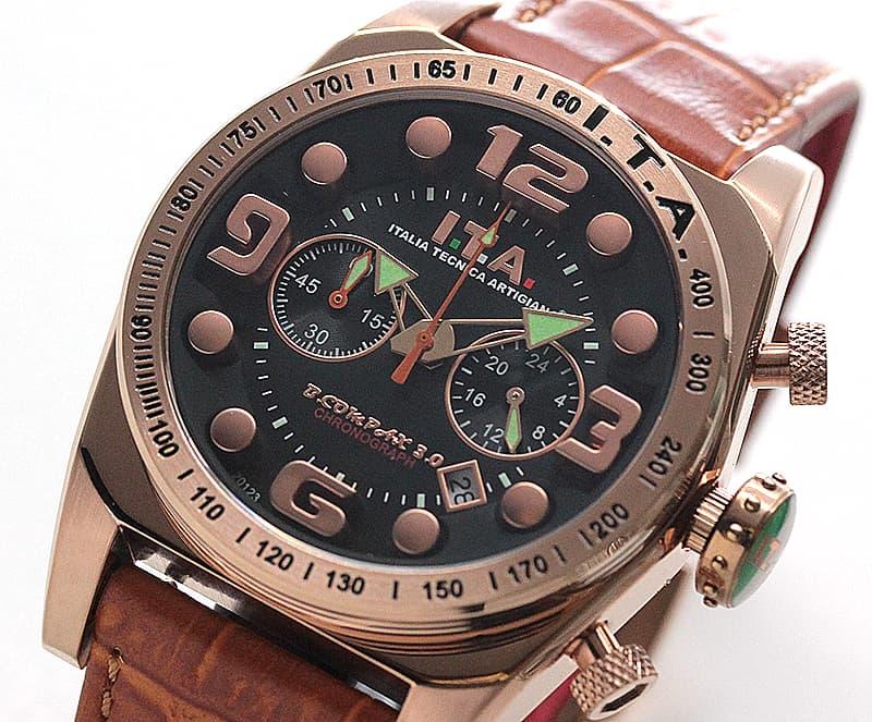 イタリア時計 ITA アイティーエー