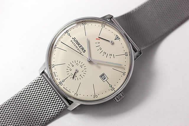 パワーリザーブ腕時計 ユンカース