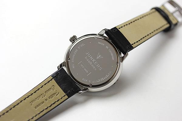 ユンカース腕時計 裏蓋