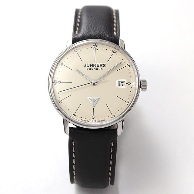 JUNKERS(ユンカース) Bauhaus(バウハウス) ミッドサイズ クォーツ6071-5QZ