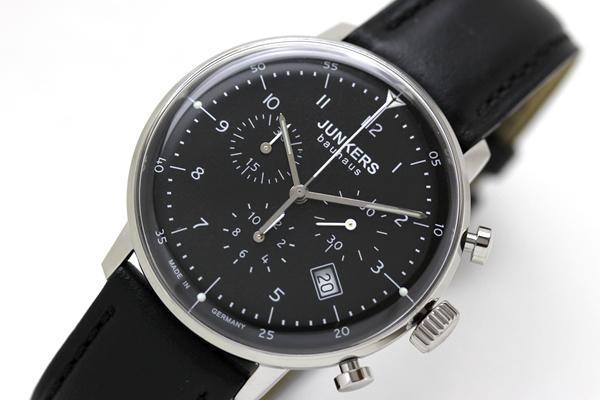 ユンカース腕時計 バウハウス クロノグラフ