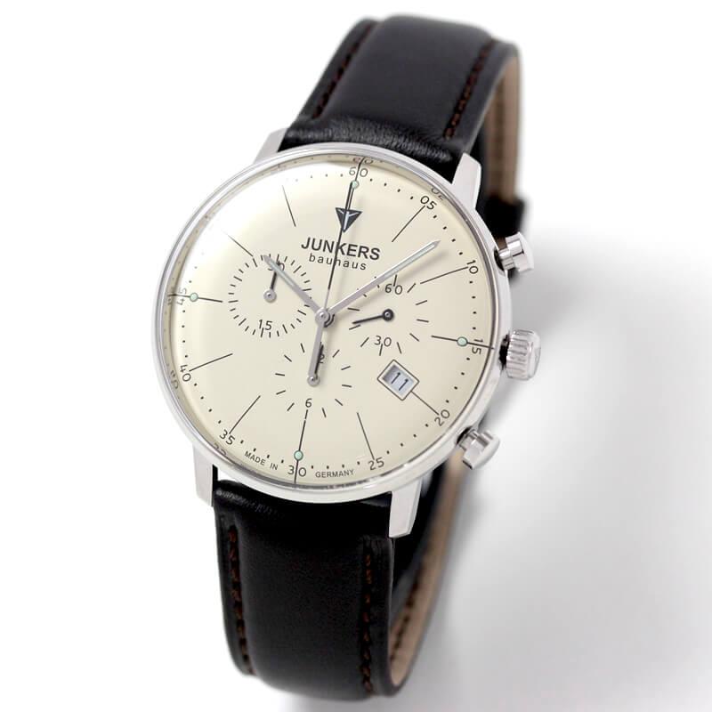 6088-5qz ユンカース(JUNKERS) バウハウス Bauhaus クロノグラフ腕時計 6088-5qz