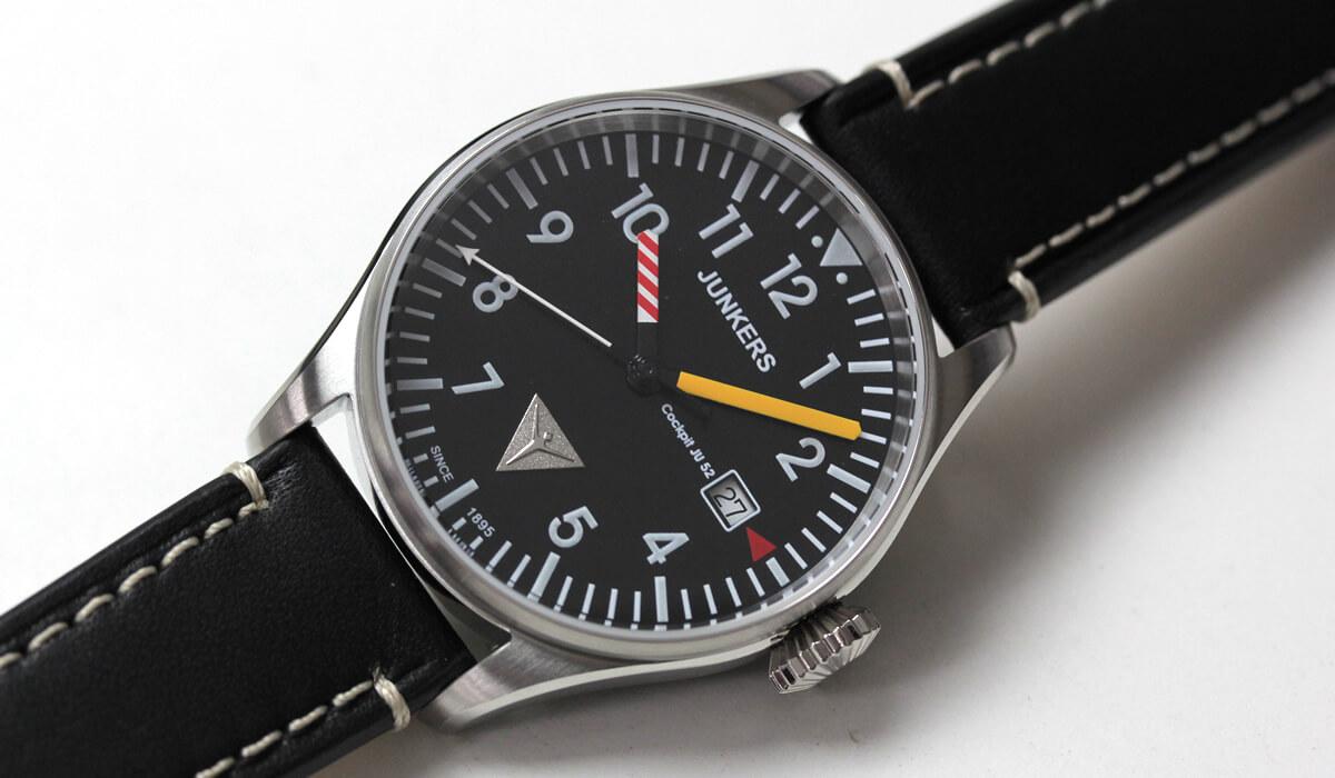 Cockpit JU52 6144-3qz-203552 junkers(ユンカース)腕時計