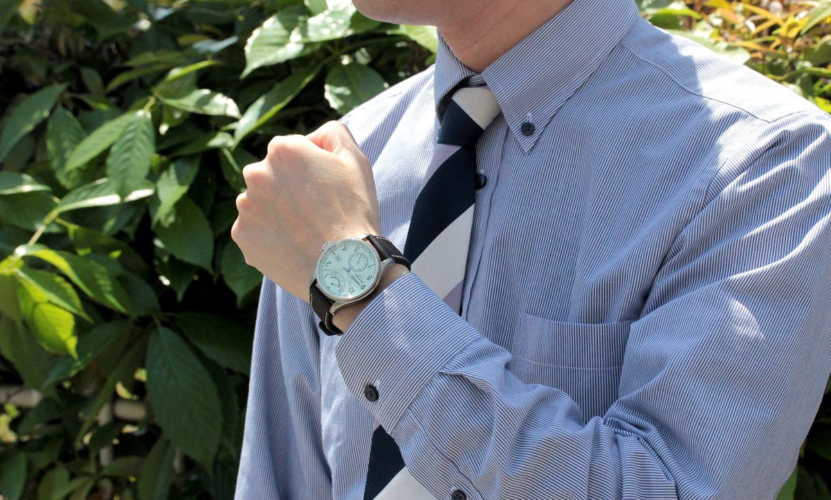 ユンカース腕時計 6160-5at-203572 スーツにもぴったりのデザイン