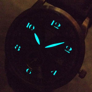 junkers ユンカース クォーツ腕時計 6334-2qz-202976 蓄光