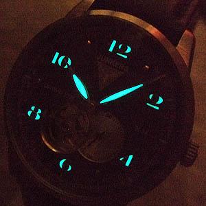 junkers ユンカース 自動巻き式腕時計 6360-2at-203511 蓄光