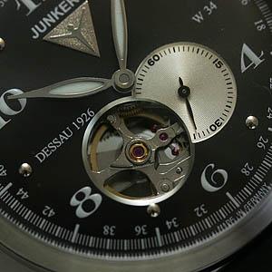 junkers ユンカース 自動巻き式腕時計 6360-2at-203511 文字盤