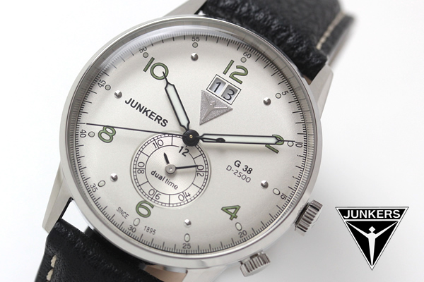 ユンカース junkers 腕時計 6940-4qz