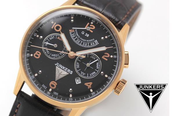ユンカース junkers 腕時計 6964-5at
