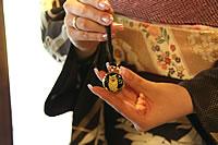 懐中時計は和服にもよく合います。