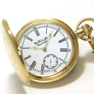 高級感ある美しい懐中時計