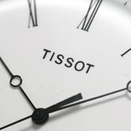 12時方向にティソのロゴ