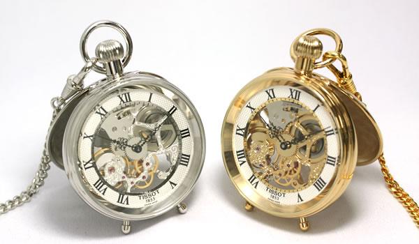 ティソ ハンター懐中時計