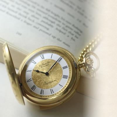 世界的に愛用されるティソの懐中時計