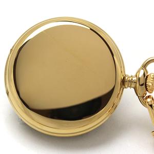 懐中時計の表蓋 刻印可能な部分です