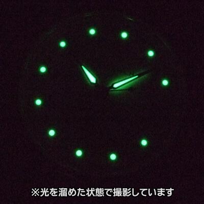 懐中時計の蓄光