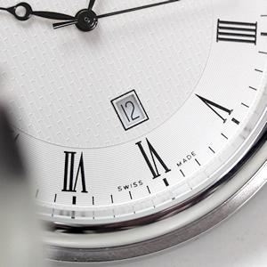 アエロ ハンターケース懐中時計 デイトカレンダー