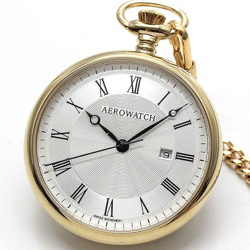 アエロ(AERO)/45828JA01/懐中時計 ゴールドカラー