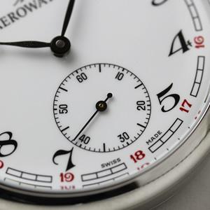 アエロ aero 懐中時計 50616aa02-1003 スモールセコンド