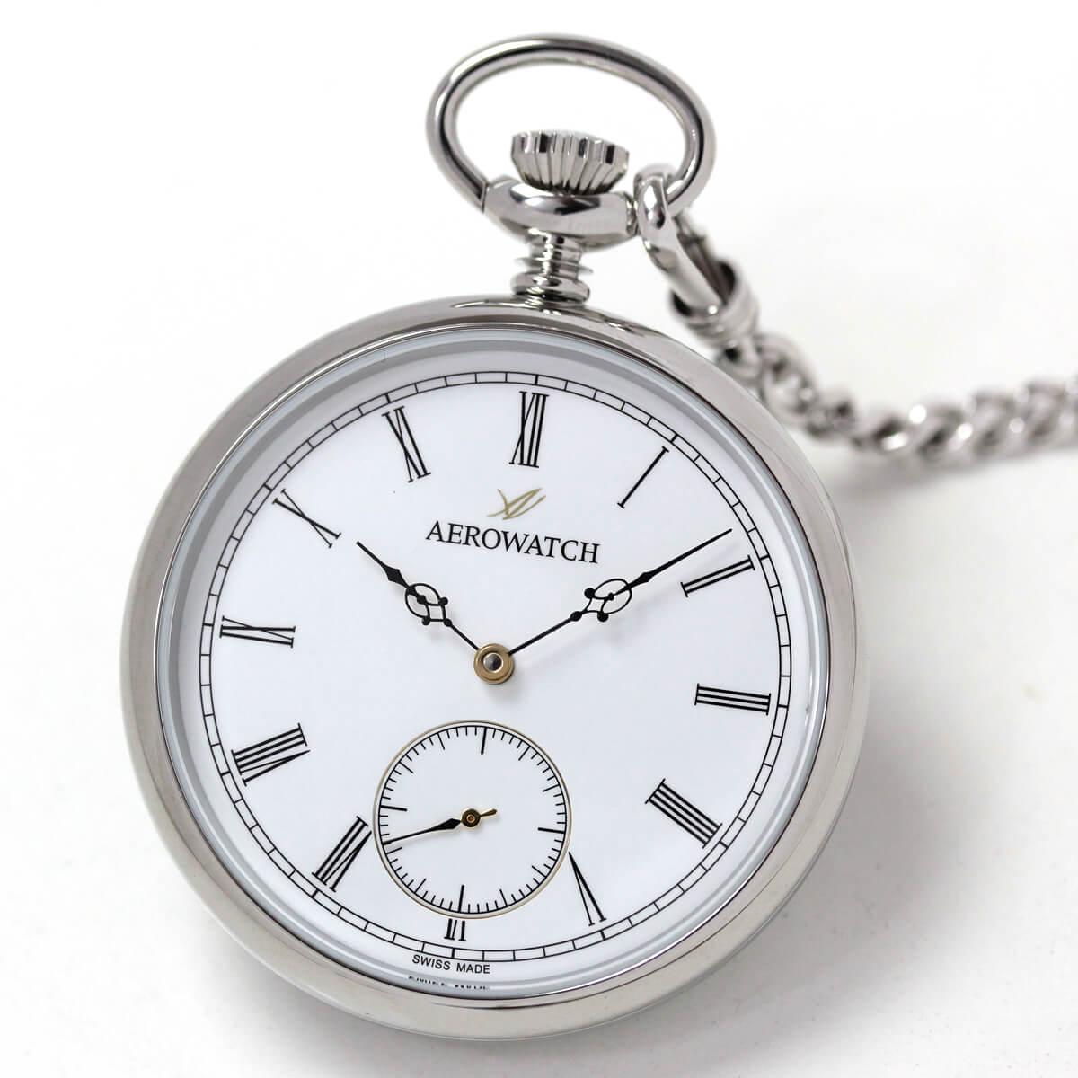 AERO(アエロ) 手巻き式懐中時計 50616aa03
