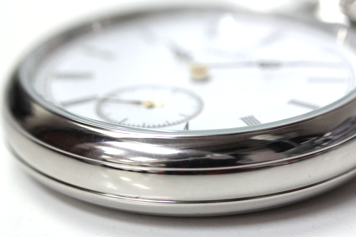 AERO(アエロ) 手巻き式懐中時計 ケースサイズ感