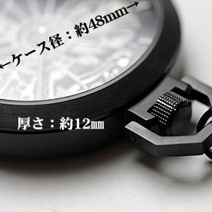 アエロ懐中時計 大きさ