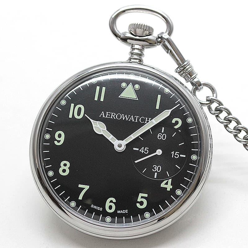 懐中時計 蓄光 コブラ針