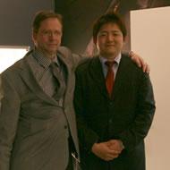 専務合田とアエロ