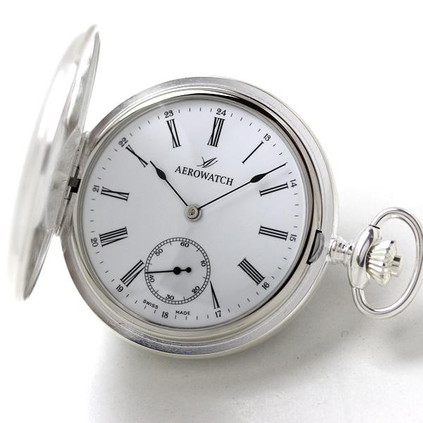 アエロ AERO シルバー 懐中時計