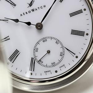 アエロ 懐中時計 スモールセコンド