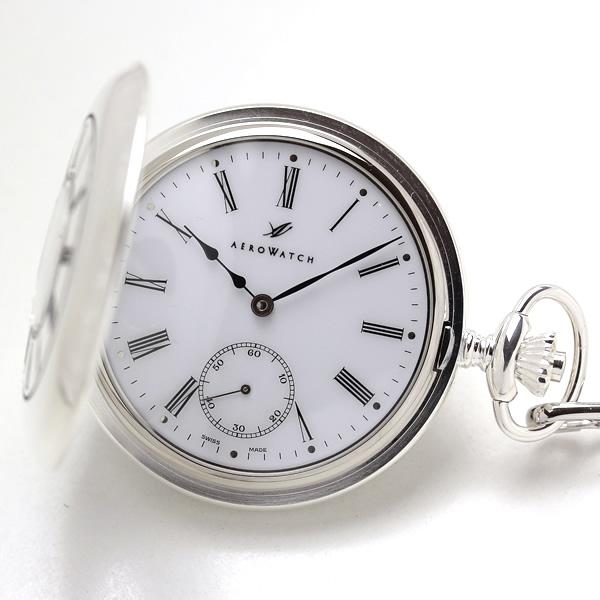 アエロ ハーフハンター懐中時計