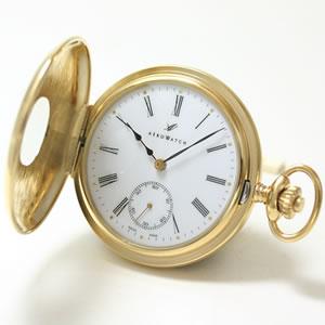 ハーフハンター懐中時計