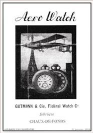 アエロ懐中時計広告