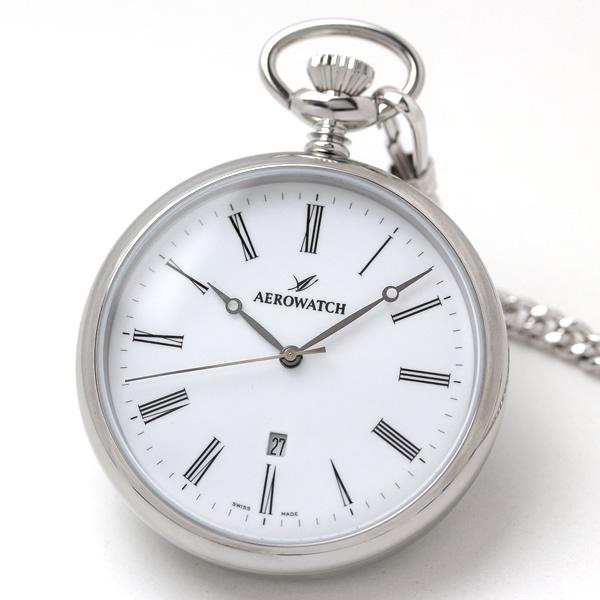 アエロ(AERO)懐中時計クォーツ式 42616aa03