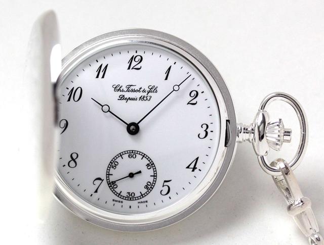 ティソ 懐中時計 t83140612