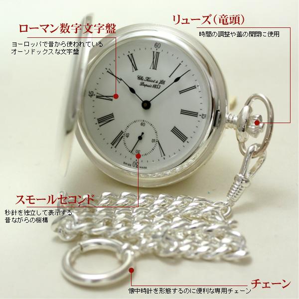ティソ 懐中時計 t83145213