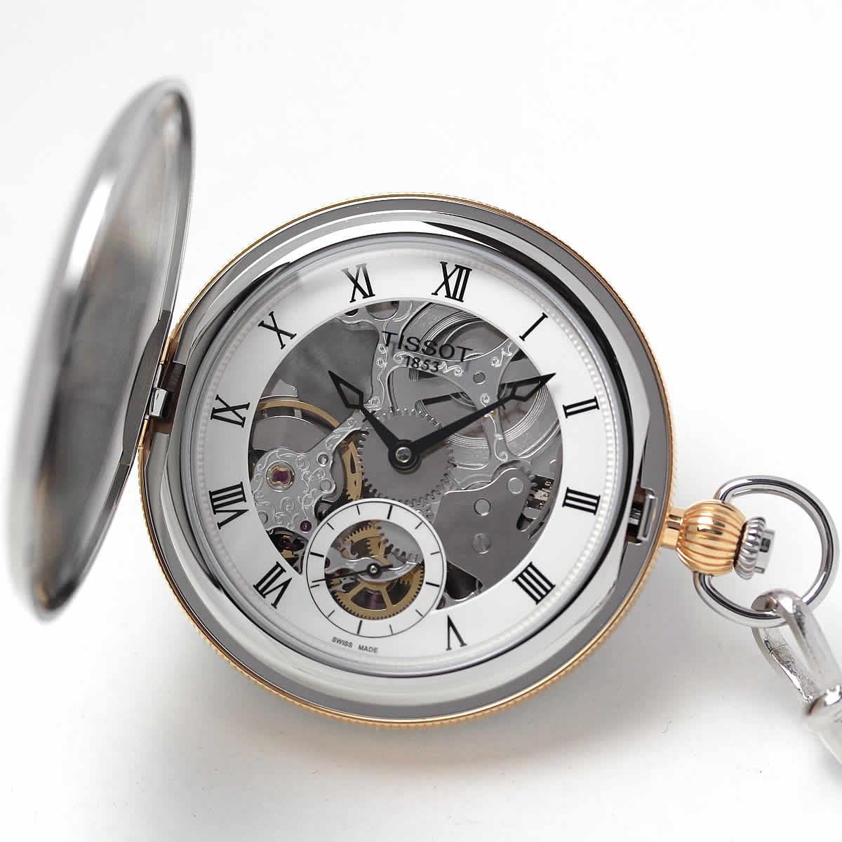ティソ 懐中時計 t8594052927300
